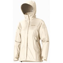 Marmot PreCip® Jacket - Waterproof (For Women) in Cloud - Closeouts