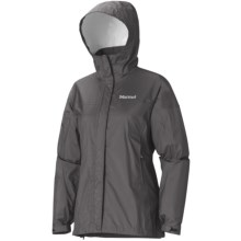 Marmot PreCip® Jacket - Waterproof (For Women) in Dark Granite - Closeouts