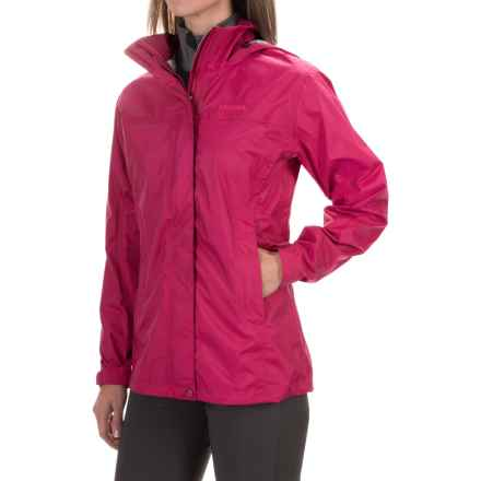 Marmot PreCip® Jacket - Waterproof (For Women) in Dark Raspberry - Closeouts