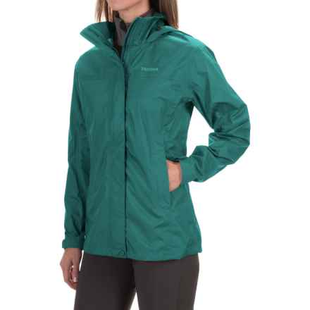 Marmot PreCip® Jacket - Waterproof (For Women) in Deep Teal - Closeouts