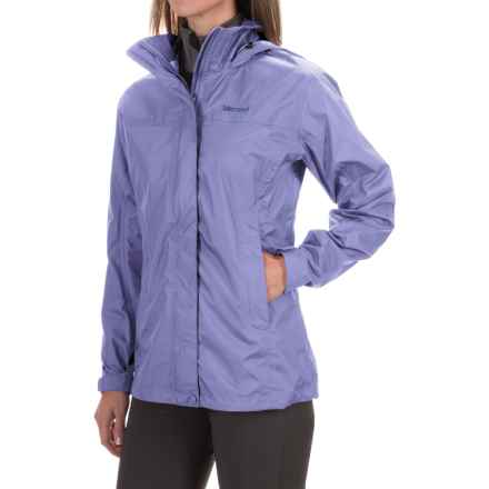 Marmot PreCip® Jacket - Waterproof (For Women) in Dusty Denim - Closeouts