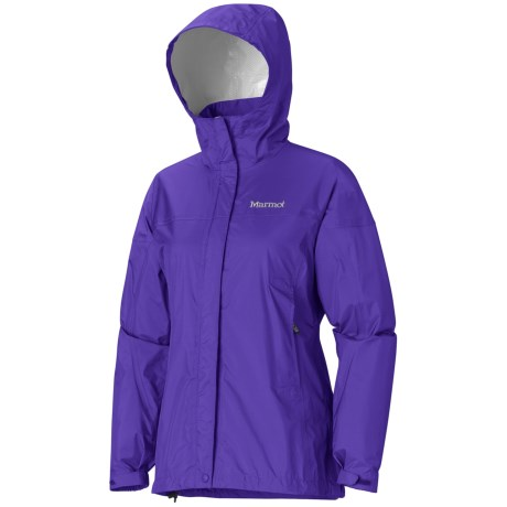 Marmot PreCip® Jacket - Waterproof (For Women) in Electric Blue