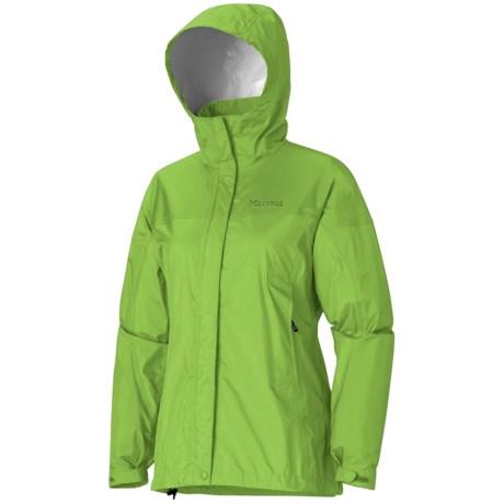 Marmot PreCip® Jacket - Waterproof (For Women) in Envy Green