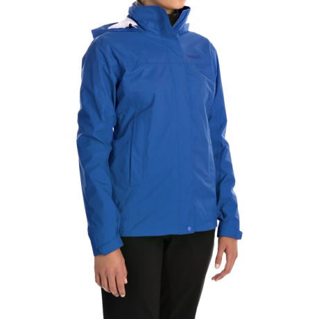 Marmot PreCip® Jacket - Waterproof (For Women) in Gem Blue