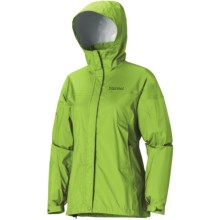 Marmot PreCip® Jacket - Waterproof (For Women) in Grass - Closeouts