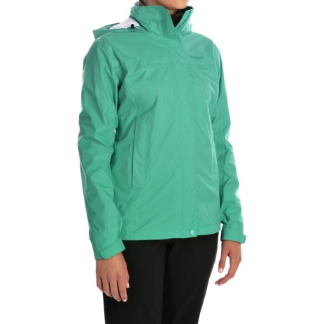 Marmot PreCip® Jacket - Waterproof (For Women) in Lush