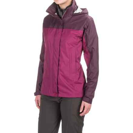 Marmot PreCip® Jacket - Waterproof (For Women) in Magenta/Dark Purple - Closeouts