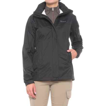 Marmot PreCip® Jacket - Waterproof (For Women) in Obsidian - Closeouts