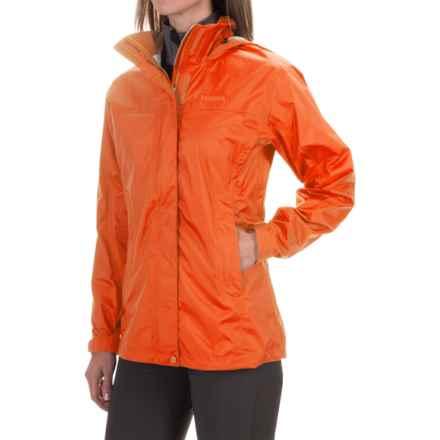 Marmot PreCip® Jacket - Waterproof (For Women) in Orange Spice - Closeouts