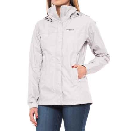 Marmot PreCip® Jacket - Waterproof (For Women) in Platinum - Closeouts