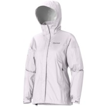 Marmot PreCip® Jacket - Waterproof (For Women) in Platinum - Closeouts