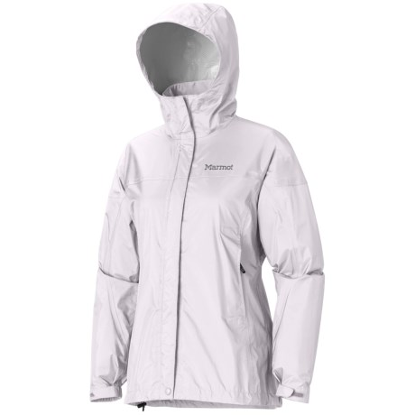 Marmot PreCip® Jacket - Waterproof (For Women) in Platinum