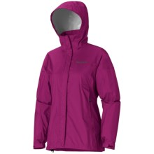 Marmot PreCip® Jacket - Waterproof (For Women) in Plum Rose - Closeouts