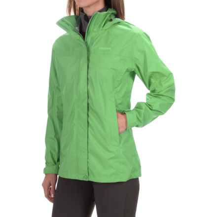 Marmot PreCip® Jacket - Waterproof (For Women) in Popp Green - Closeouts