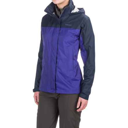 Marmot PreCip® Jacket - Waterproof (For Women) in Royal Night/Arctic Navy - Closeouts