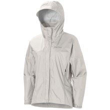 Marmot PreCip® Jacket - Waterproof (For Women) in Turtle Dove - Closeouts