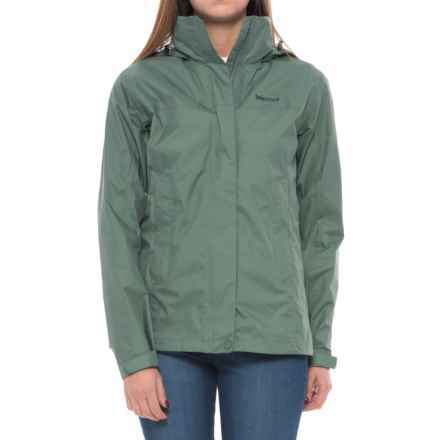 Marmot PreCip® Jacket - Waterproof (For Women) in Urban Army - Closeouts