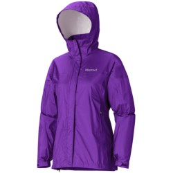 Marmot PreCip® Jacket - Waterproof (For Women) in Envy Green