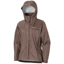 Marmot PreCip® Jacket - Waterproof (For Women) in Walnut - Closeouts