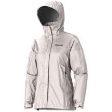 Marmot PreCip® Jacket - Waterproof (For Women) in Whitestone - Closeouts