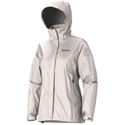 Marmot PreCip® Jacket - Waterproof (For Women) in Blue Sea