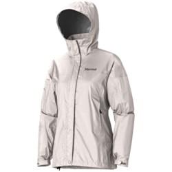 Marmot PreCip® Jacket - Waterproof (For Women) in Cloud