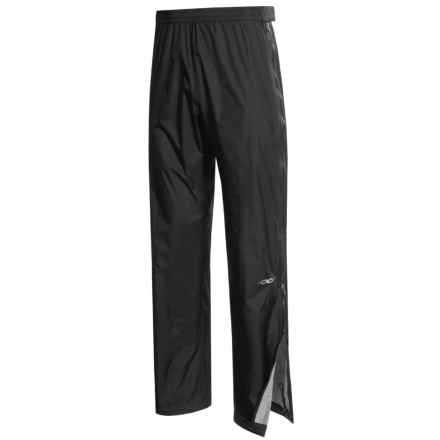 Marmot PreCip® Pants - Full-Zip, Waterproof (For Men) in Black - Closeouts