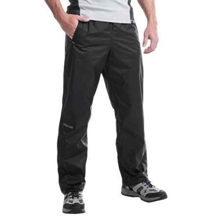 Marmot PreCip® Pants - Waterproof (For Men) in Black - Closeouts