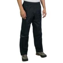 Marmot PreCip® Pants - Waterproof (For Men) in Black - Closeouts
