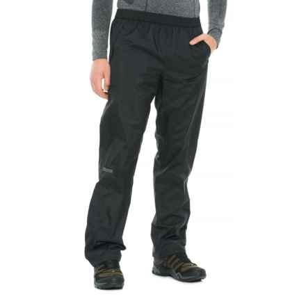 Marmot PreCip® Pants - Waterproof (For Men) in Obsidian - Closeouts