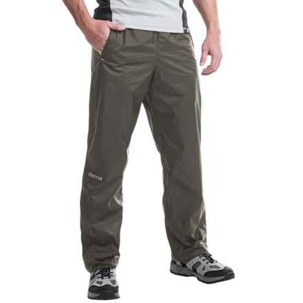 Marmot PreCip® Pants - Waterproof (For Men) in Slate Grey - Closeouts