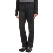 Marmot PreCip® Pants - Waterproof, Windproof (For Women) in Black - Closeouts