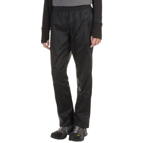 Marmot PreCip® Pants - Waterproof, Windproof (For Women) in Black