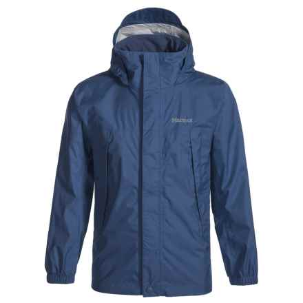 Marmot PreCip® Rain Jacket - Waterproof (For Little and Big Boys) in Arctic Navy - Closeouts
