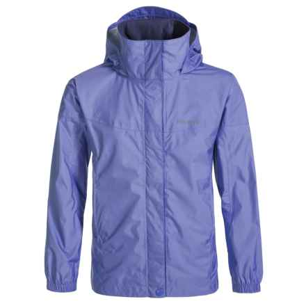 Marmot PreCip® Rain Jacket - Waterproof (For Little and Big Girls) in Lilac - Closeouts