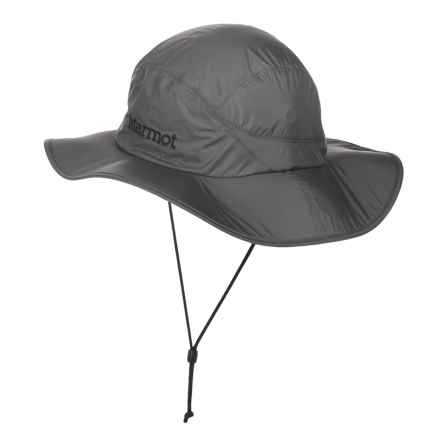 Marmot PreCip® Safari Hat - Waterproof (For Men and Women) in Slate Grey - Closeouts