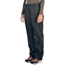 Marmot PreCip® Waterproof Pants (For Women) in Black - Closeouts