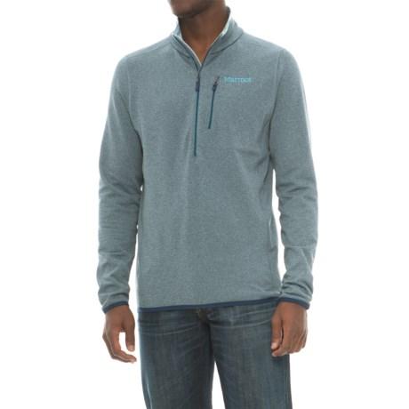 Marmot Preon Fleece Jacket - Zip Neck (For Men) in Denim