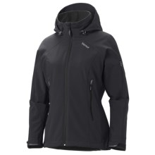 Marmot Pro Tour Jacket - Soft Shell (For Women) in Black - Closeouts