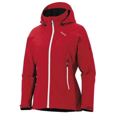 Marmot Pro Tour Jacket - Soft Shell (For Women) in Team Red