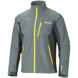 Marmot Prodigy Soft Shell Jacket - Windstopper® (For Men) in Cinder/Slate Grey