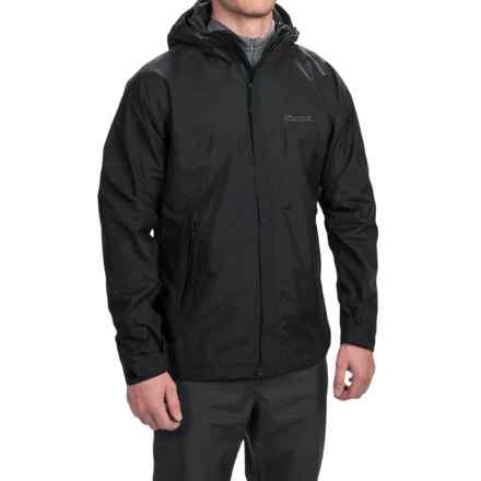 Marmot Quarry Hooded Jacket - Waterproof (For Men) in Black - Closeouts
