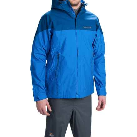 Marmot Quarry Hooded Jacket - Waterproof (For Men) in Cobalt Blue/Blue Night - Closeouts