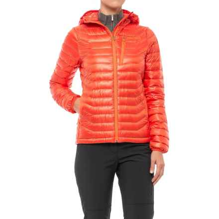 Marmot Quasar Down Hooded Jacket - 850 Fill Power (For Women) in Coral Sunset - Closeouts