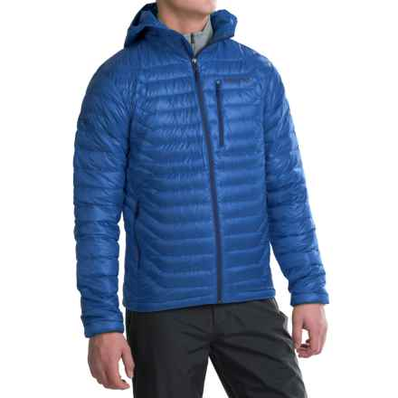 Marmot Quasar Hooded Down Jacket - 850 Fill Power (For Men) in True Blue - Closeouts