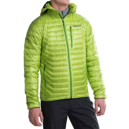 Marmot Quasar Hooded Down Jacket - 850 Fill Power (For Men) in Vermouth - Closeouts