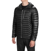 Marmot Quasar Hooded Down Jacket - 900 Fill Power (For Men) in Black - Closeouts