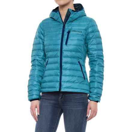 Marmot Quasar Nova Hoodie - 800 Fill Power (For Women) in Late Night - Closeouts