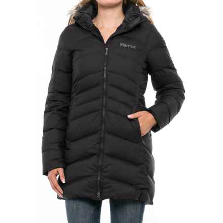 Marmot Quebec Down Coat - 700 Fill Power (For Women) in Black - Closeouts