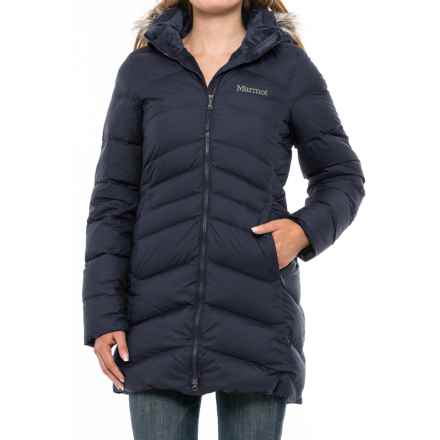 Marmot Quebec Down Coat - 700 Fill Power (For Women) in Midnight Navy - Closeouts